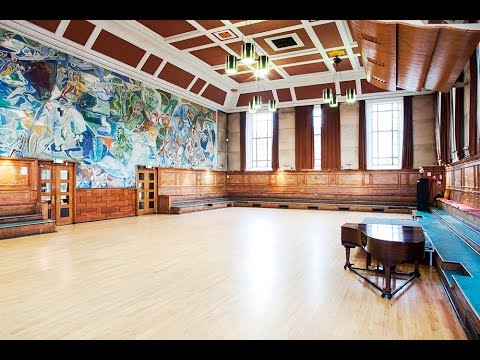 Restoring the Ivon Hitchens Mural at Cecil Sharp House