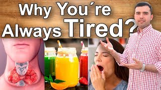 Why Am I Always Tired - 6 Reasons Why You´re Feeling Tired, Chronic Fatigue and Its Remedies