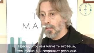 Рафаэль Тревизани на выставке Московского Флейтового Центра