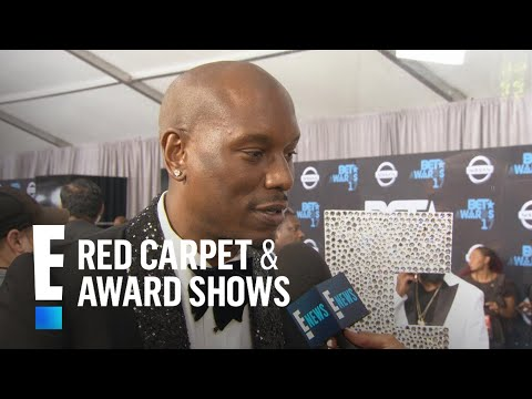 Tyrese Gibson Gushes Over Wife at BET Awards | E! Live from the Red Carpet
