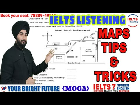 Ielts listening Maps Tips | IELTS Listening Maps Practice | Most Effective Tips And Tricks Ielts Map Mp3