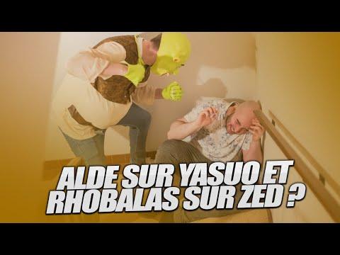 Vidéo d'Alderiate : [FR] ALDERIATE & LE GANG - YASUO VS SYLAS - RHOBALAS REFUSE DE MANGER AVEC MOI...