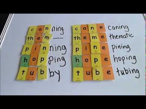 Why we double consonants - YouTube