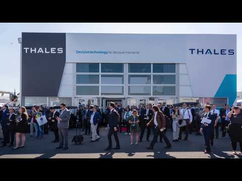 Get on board! Thales @ Paris Air Show 2019