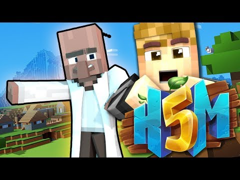 VILLAGER HUNT! | HOW TO MINECRAFT 5! (H5M) Ep.36