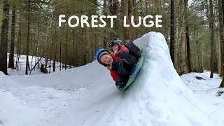 350ft Backyard Forest Luge