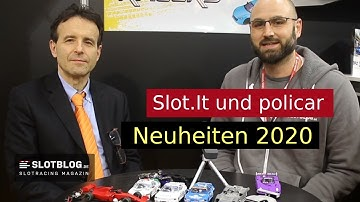 Slot.It und Policar Neuheiten 2020 auf der Spielwarenmesse 2020 in Nürnberg
