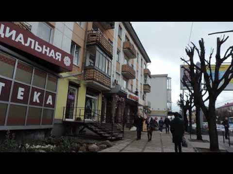Калининград Ленинский проспект от Калининград Плаза до ул. Барнаульская - 29 апреля 2017