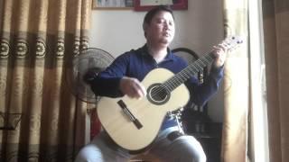 Guitar Solo - Ru em từng ngón xuân hồng (ns Trịnh Công Sơn) - Lê Hùng Phong
