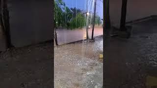 Terrible: Granizo y aguacero en Sarmiento (1) 2017 Video