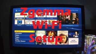 Zgemma WiFi setup guide