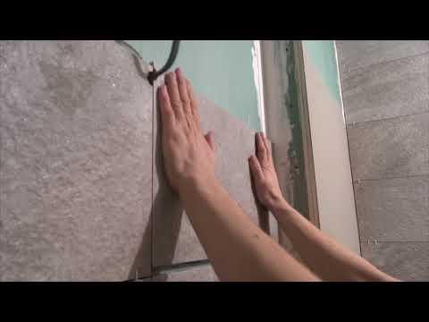 Укладка керамогранита на стену своими руками