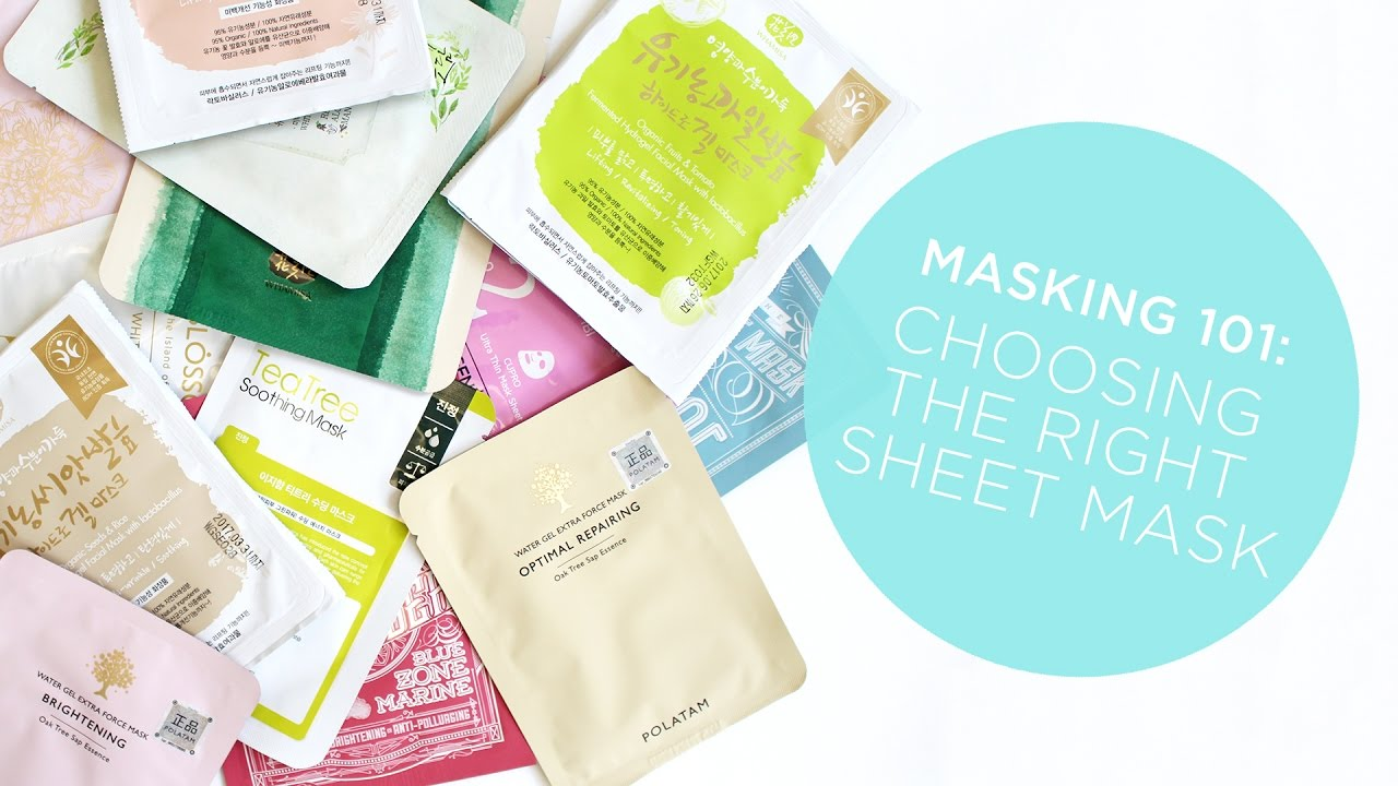 Mask 101: How to Choose the Best K-Beauty Sheet Mask