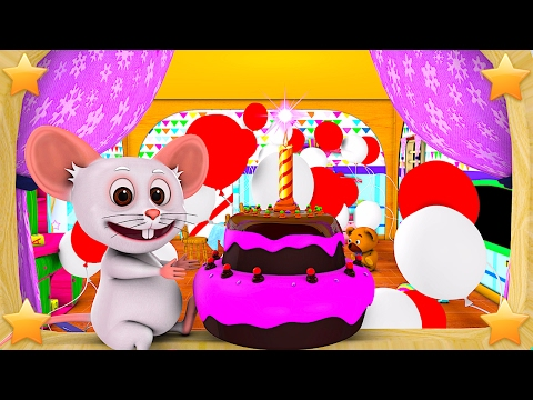 Happy Birthday Song   Kindergarten Nursery Rhymes & Songs for Kids   Little Treehouse S03E50