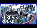 Furuvik Rocket front seat PoV (Alton Towers\' old Black Hole rollercoaster)