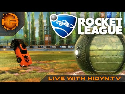 Rocket League Live With Hidyn.Tv