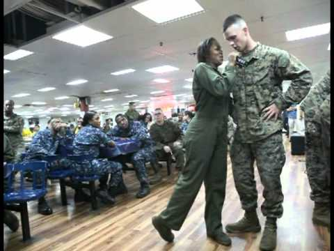 USS Essex Marines Karaoke 2