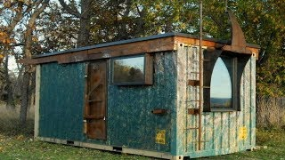 Zulu Queen Tiny Shipping Container Home  160 Sq Ft