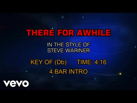 steve-wariner---there-for-awhile-(karaoke)