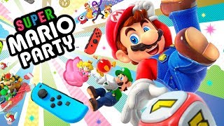 ¡Así es Super Mario Party para Nintendo Switch!