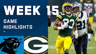 Panthers vs. Packers Week 15 Highlights | NFL 2020