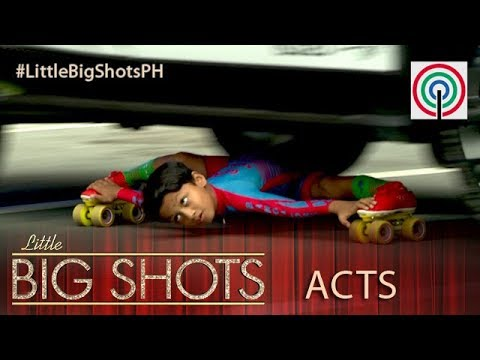 Little Big Shots Philippines: 8-year-old Limbo Skater | Gagan