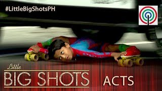 Little Big Shots Philippines: 8-year-old Limbo Skater | Gagan