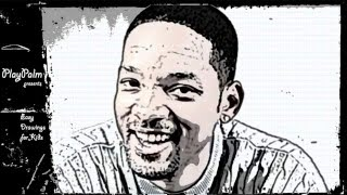 Will Smith - How to draw Will smith