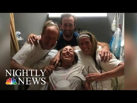 Missing California Camper Found A After Being Lost Since Friday  NBC Nightly News