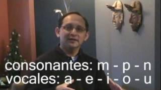 Day 2  Spanish Video Journal: Spanish Phonetics - Part 1