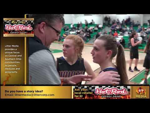 Litter Media Sports: Girl's Basketball, Unioto At Huntington