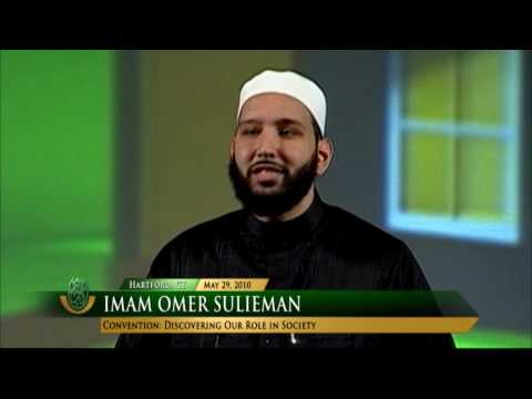 Discovering Our Role in Society by Imam Omer Sulieman