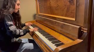 """Opeth """"Silhouette"""" Piano Cover"""