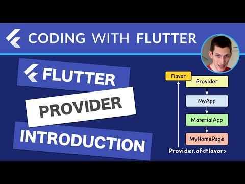 Flutter Provider: Introduction