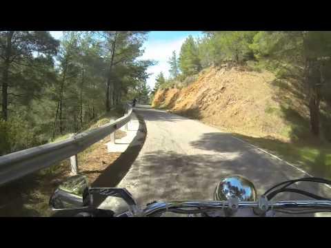 Moto Vlog Cyprus biker ride Paphos to Kato Pygros Apr 2014 part six