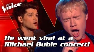Sam Hollyman sings 'Your Song' by Elton John | The Voice Stage #3