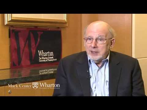 Innovation and the Economy: Sidney Winter - YouTube
