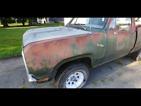 1977 Dodge Custom W150 Heavy Half Short Bed Power Wagon Truck