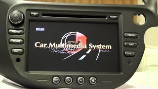 CASKA in dash double din touchscreen infotainment navigation car music system for Honda JAZZ