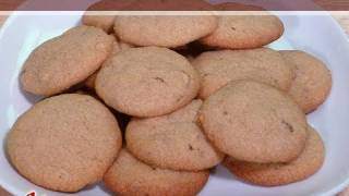 Whole Wheat Almond Eggless Cookies By Manjula