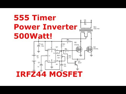 Full Download] 700watt 12 230v Inverter With Irf3205 Mosfet And 555
