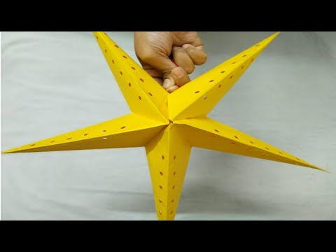DIY How To Make Star Lantern Kandil For Christmas & New Year Decorations | Innovative You