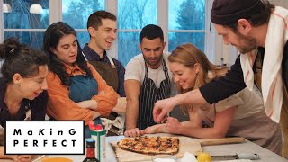 Download Brad, Claire, Carla, Molly, Chris & Andy Cook the Perfect Pizza | Making Perfect: Episode 5 Mp3 and Videos