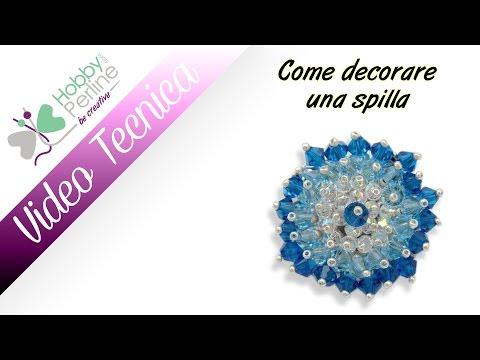 Come decorare una spilla  TECNICA - HobbyPerline.com ...