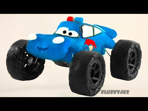 Thumbnail: Cars 3 Lightning McQueen PAW PATROL Play Doh Stop Motion video Disney Pixar Cars Toys kids play time