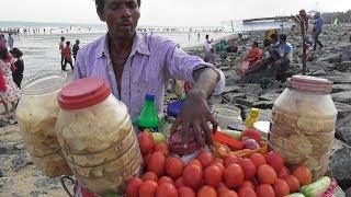 Yummy Papri Chaat 30 rs Per Plate | New Digha Sea Beach West Bengal