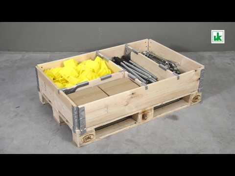 Valdemar Krog Cargo Fix Palettenteiler
