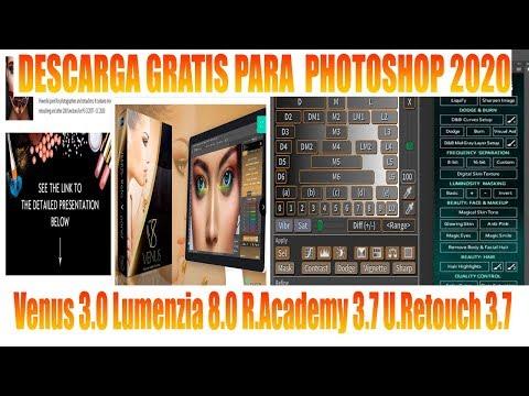 Descarga VENUS 3.0 LUMENZIA 8.0 5 Paneles De Piel Para Photoshop 2020 Actualizados