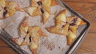Raspberry Cheesecake Danishes   Ep. 1336