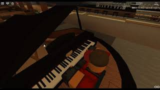 Zombie - Disobey by: Bad Wolves on a ROBLOX piano.